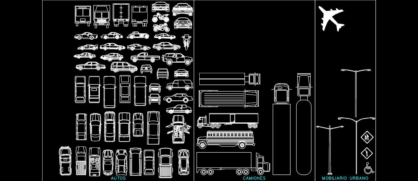 imagen bloque de autos