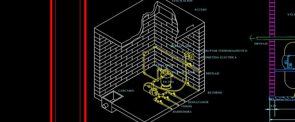 Detalles de alberca planos de casas for Planos para alberca
