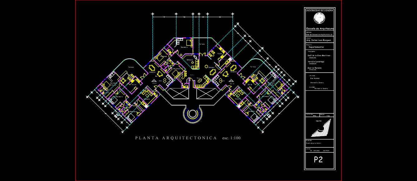 Planos y modelos planos de casas for Ejes arquitectonicos