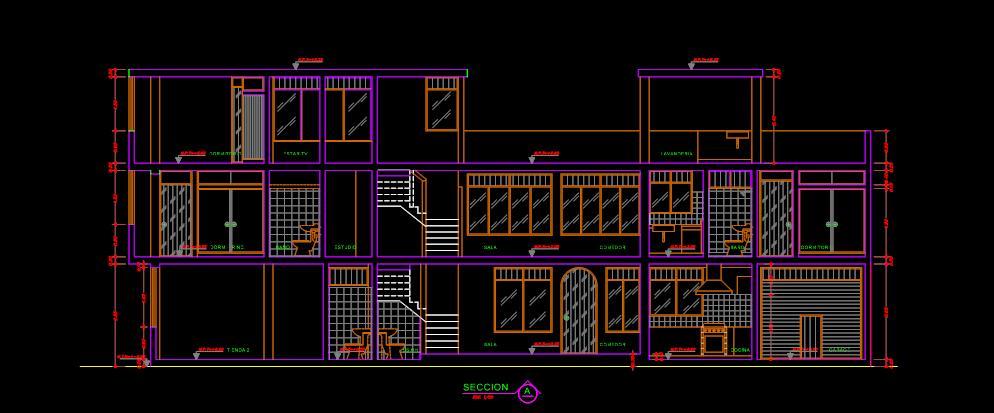 Planos De Casa De Habitaci N Yanqui Planos De Casas